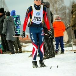 Skiing 90 km - Brian Wernicke (12115)