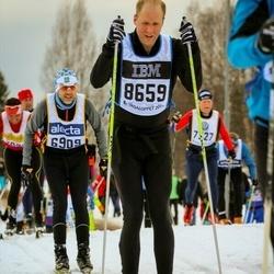 Skiing 90 km - Stefan Hansson (6909), Fredrik Kållberg (8659)