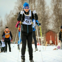 Skiing 90 km - Björn Lundman (7487)