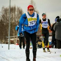 Skiing 90 km - Christer Wiberg (7675)