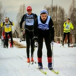 Skiing 90 km - Björn Sjökvist (14996), Hans Haugen (15631)