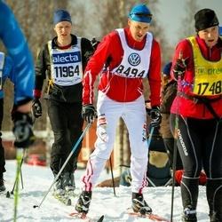 Skiing 90 km - Albin Grahn (8494), Emil Andersson (11964)