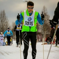 Skiing 90 km - Henrik Ahl (5915)