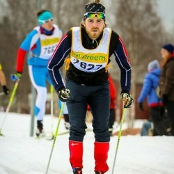 Skiing 90 km - Björn Andersson (7627)