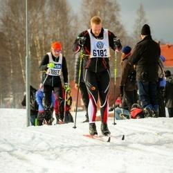 Skiing 90 km - Daniel Ehrin (6182)