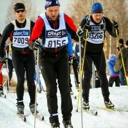 Skiing 90 km - Kristian Winter (7009), Christer Reinholdsson (8255), Kristoffer Hvidsteen (13266)