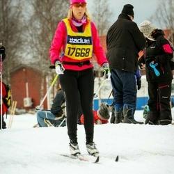 Skiing 90 km - Åsa Asplund (17668)