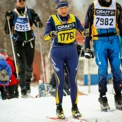 Skiing 90 km - Agneta Fjätström (17768)