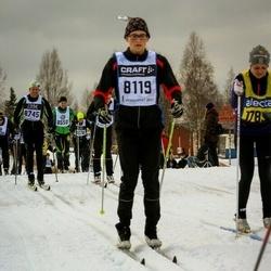 Skiing 90 km - Daniel Samuelsson (8119)