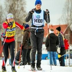 Skiing 90 km - Fredrik Waldur (14100)