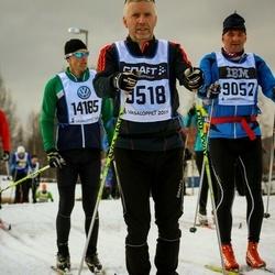 Skiing 90 km - Joakim Tübinger (9052), Daniel Nordström (9518)