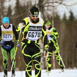 Skiing 90 km - Hjalti Jonsson (6670)