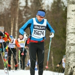 Skiing 90 km - Alexander Gastager (15674)