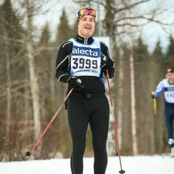 Skiing 90 km - Henrik Ejderholm (3999)