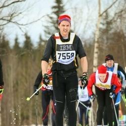 Skiing 90 km - Carl-Fredrik Gillberg (7559)