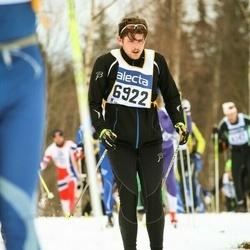 Skiing 90 km - Adam Selméus (6922)