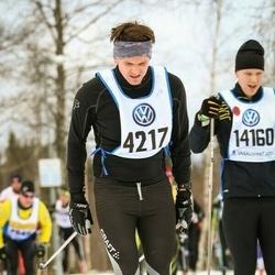 Skiing 90 km - Henrik Edholm (4217)