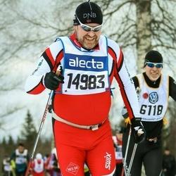 Skiing 90 km - Arne Skogseth (14983)