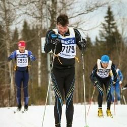 Skiing 90 km - Åke Lindahl (7179)