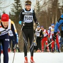 Skiing 90 km - Johan Karlsson (9500)