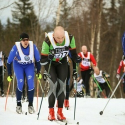Skiing 90 km - Fredrik Hammar (6277)