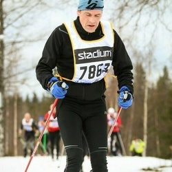 Skiing 90 km - Anders Nordzell (7863)