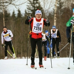 Skiing 90 km - Anders Eklind (7398)