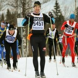 Skiing 90 km - Henrik Wahlsten (5451)