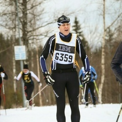 Skiing 90 km - Henrik Widegren (6359)