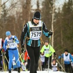 Skiing 90 km - Henrik Juhlin (7579)