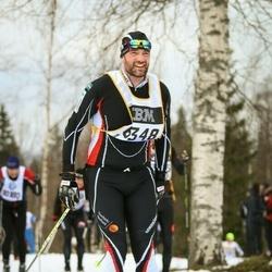 Skiing 90 km - Daniel Larsson (6348)