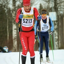 Skiing 90 km - Jan-Olof Markinger (5213)
