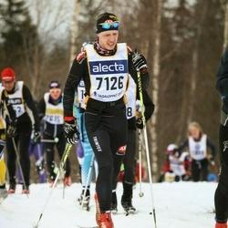 Skiing 90 km - Henrik Eklund (7126)