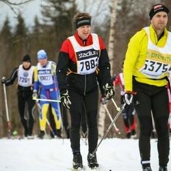 Skiing 90 km - Anders Norrga (7882)