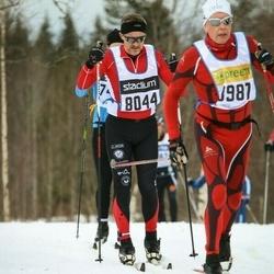 Skiing 90 km - Henrik Rosén (8044)
