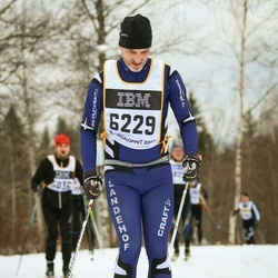 Skiing 90 km - Albin Andersson (6229)