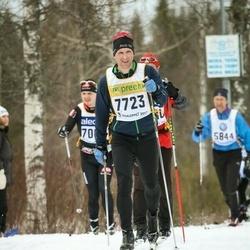 Skiing 90 km - Bruno Von Sicard (7723)