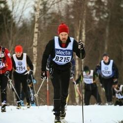 Skiing 90 km - Henrik Lindberg (8215)