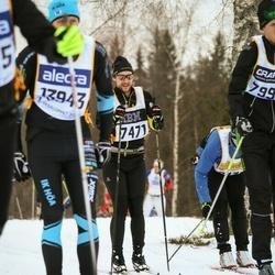 Skiing 90 km - Daniel Udd (7471)