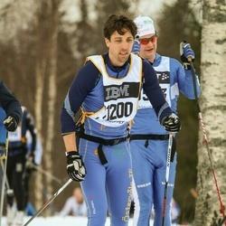 Skiing 90 km - Emil Brandel (11200)
