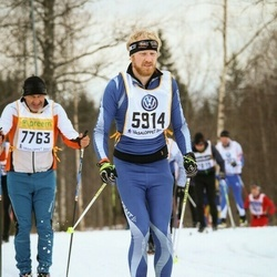 Skiing 90 km - Christian Strid (5914)