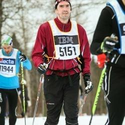 Skiing 90 km - Henrik Tegström (5151)