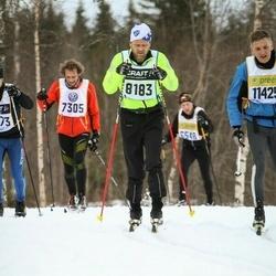 Skiing 90 km - Björn Skårman (8183)