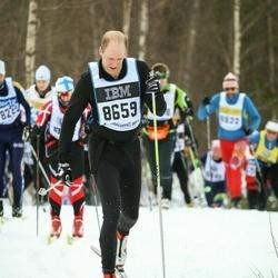 Skiing 90 km - Fredrik Kållberg (8659)