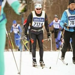 Skiing 90 km - Agne Johansson (7174)