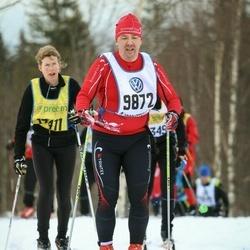 Skiing 90 km - Anders Larsson (9872)