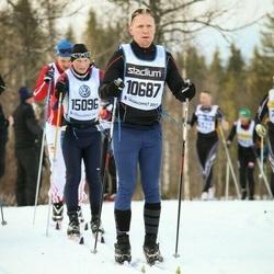 Skiing 90 km - Tony Henriksson (10687)
