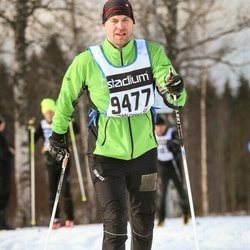 Skiing 90 km - Fredrik Olsson (9477)