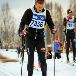 Skiing 90 km - Henrik Lundberg (7036)