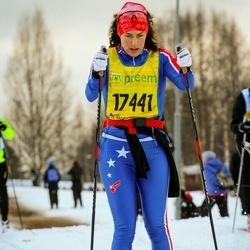 Skiing 90 km - Cecilia Björk Bang-Melchior (17441)
